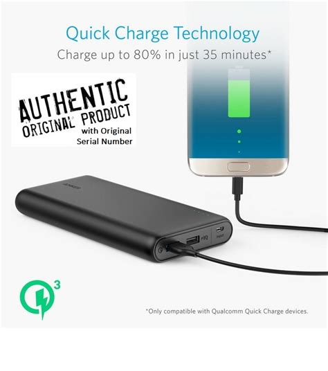 anker qualcomm 3 0 anker powercore speed quick charge qualcomm 3 0 powerbank