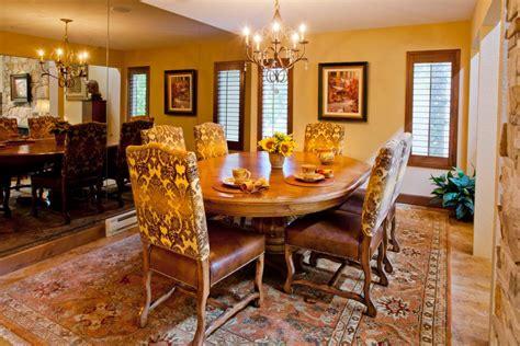 victorian dining room  extravagant patterns  full