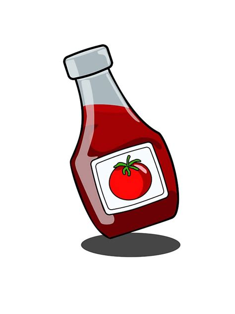 Dartslive Card Bottle Of Ketchup quot ketchup bottle quot stickers by mdkgraphics redbubble