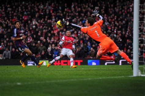 arsenal epl top 10 goalkeepers of the 2012 13 epl season