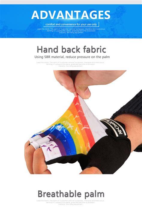 Sarung Tangan Gloves Half Finger Black Sepeda 1 coolchange sarung tangan sepeda half finger colorfull size