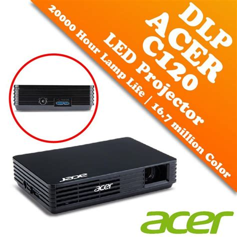 Proyektor Acer Mini acer c120 dlp projector wvga 854x4 end 6 25 2017 11 15 am