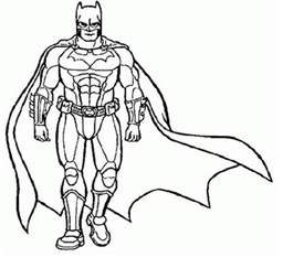 printable superhero coloring pages coloring