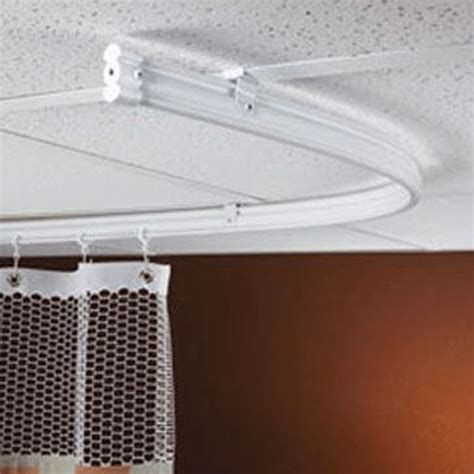 Ceiling Track Set - 8 track set for drywall ceiling for 8 6 quot w curtain