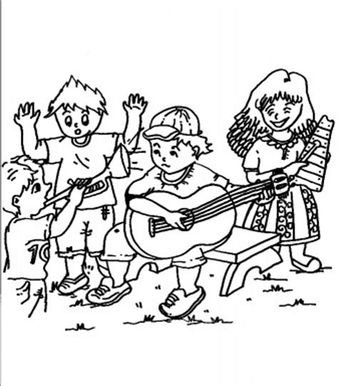 band coloring pages coloring pages