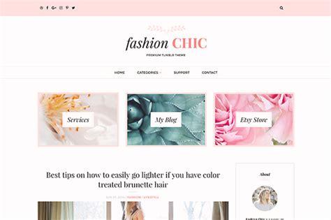 free tumblr themes photo blogs fashion chic tumblr theme by themelantic themeforest