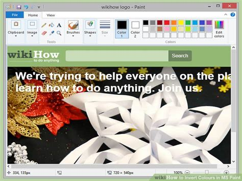 2 simple ways to invert colours in ms paint wikihow