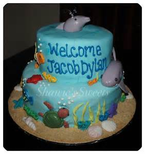 shawie s the sea baby shower cake