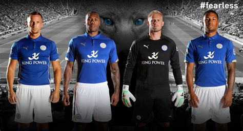 Leicester City Home 15 footy news leicester city 14 15 kits released