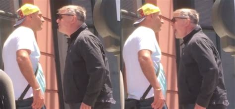 Alec Baldwin Is A Screaming Idiot by Alec Baldwin Filmed Screaming At A Paparazzo To
