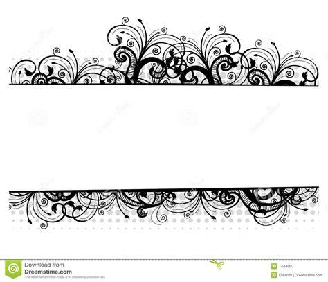 pattern border vector free 16 vector flower black border images free vector borders