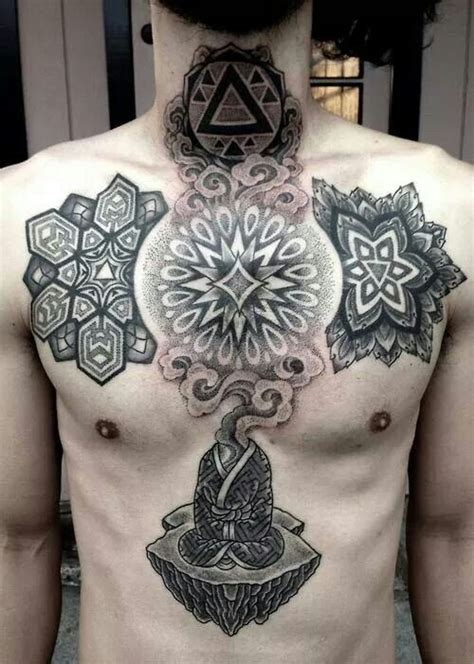 17 best images about tattoo geometric tree on pinterest