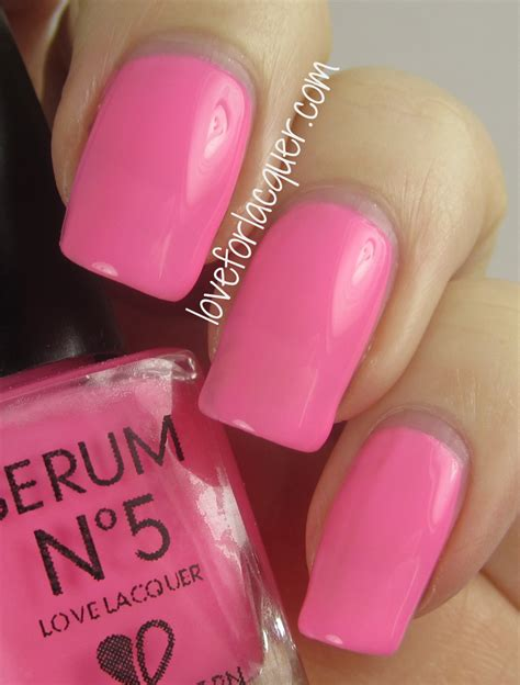 Paket Glow Serum Pink serum no 5 fall winter 2013 collection swatches review for lacquer