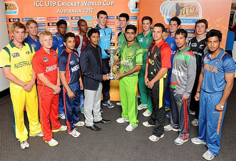 Under 19 World Cup Standings by The Captains Of The 16 Under 19 Teams Pose With The World