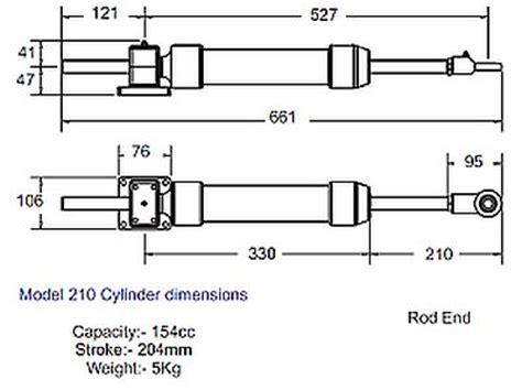 hydrive hydraulic cylinder boat steering hydrive hydraulic balanced steering kit for inboards with