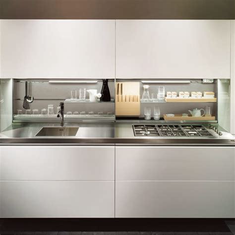 10 gorgeous minimal kitchens curbly galley kitchen design ideas ideal home