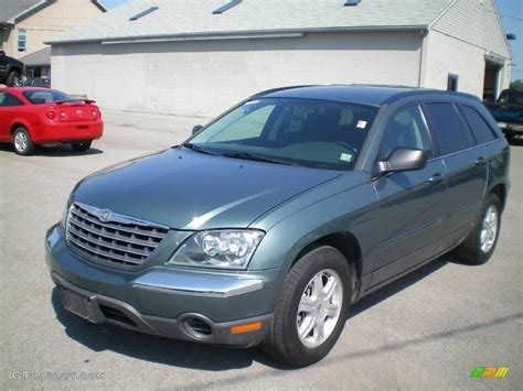 2006 Chrysler Pacifica by 2006 Magnesium Green Pearl Chrysler Pacifica Touring