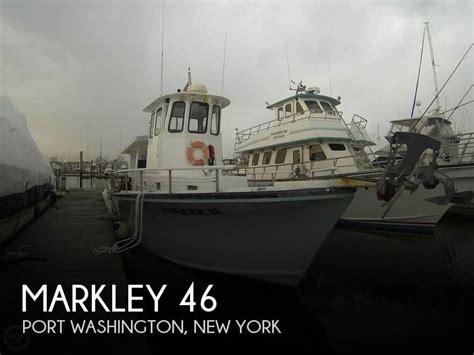 boats for sale port washington sold markley 46 boat in port washington ny 119561