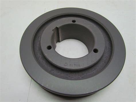 browning 6l70q 6 groove poly v l belt sheave pulley split