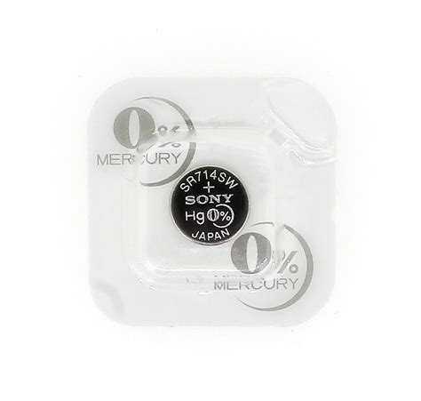 Sale Button Cell 341 Sr714sw sony sr714sw button cell battery 341 silver oxide 1 55v