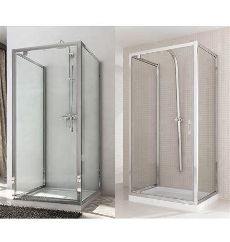 ante doccia box doccia due ante fisse porta a battente anta unica