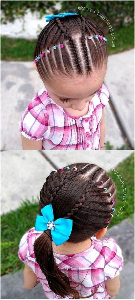latest  trending  girl hairstyles kids