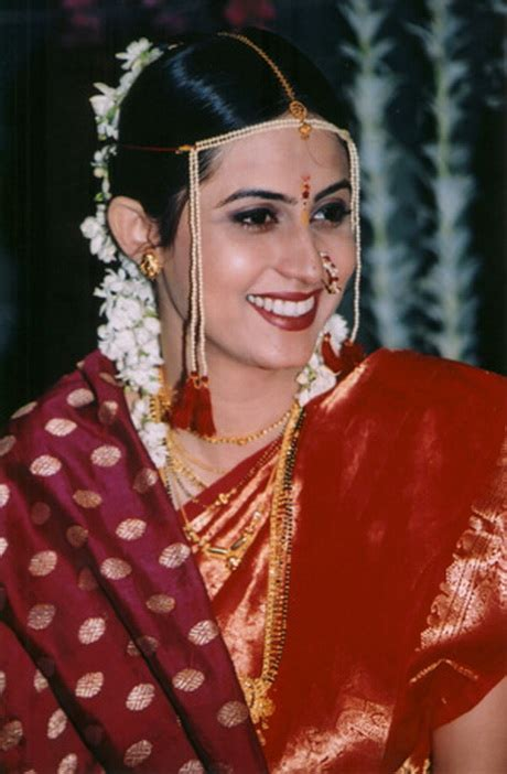Bridal Hairstyles Maharashtrian | maharashtrian bridal hairstyle