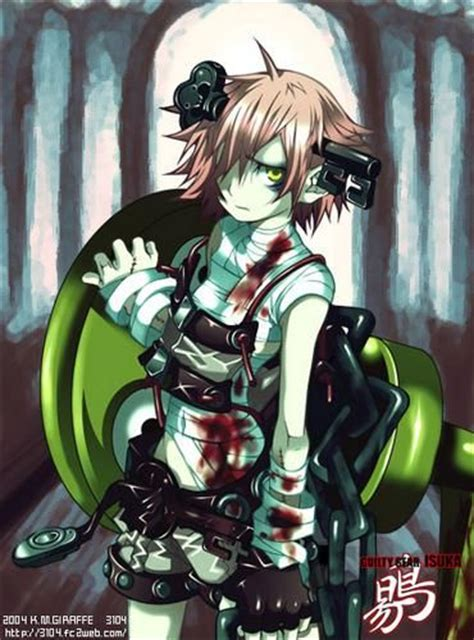 anime zombie girl 110 best images about guilty gear on pinterest