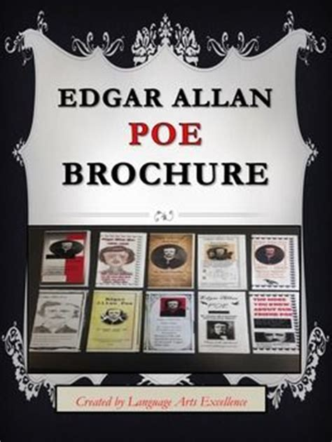 edgar allan poe biography project edgar allan poe brochure final project edgar allan poe