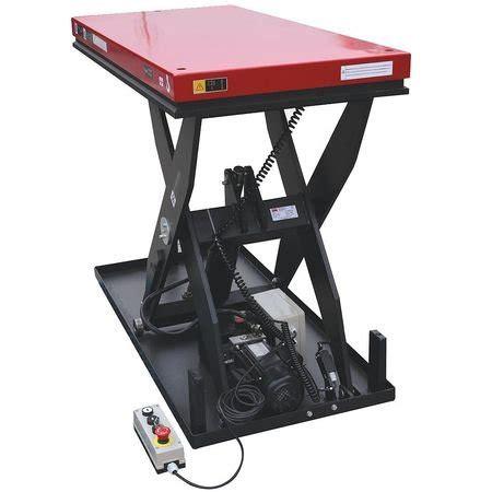 scissor lift table rental scissor lift table 1500 lb 48inlx24inw scissor lift