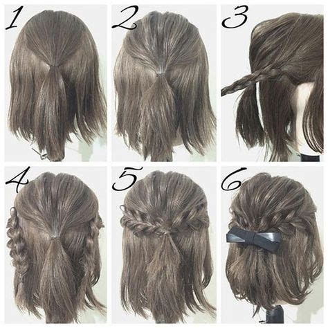 tutorial thin hair hairstyles best 25 short hair tutorials ideas on pinterest