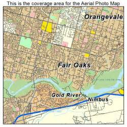 fair oaks california map aerial photography map of fair oaks ca california