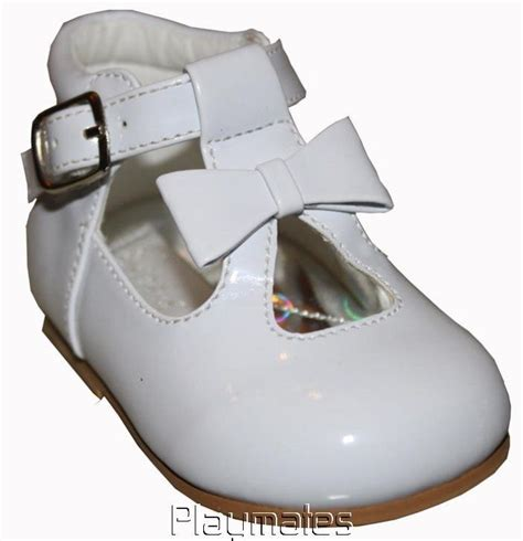 infant white patent walking shoes sizes 2 3 4 5 6 ebay