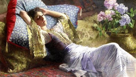 reclining odalisque art reclining odalisque by ferdinand max bredt