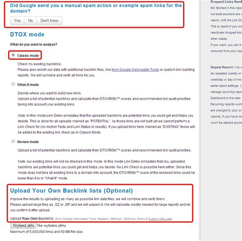 Link Detox Link Research Tools by How To Evaluate Your Recent Link Building Efforts