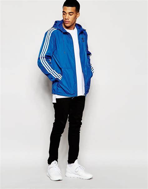 Original Adidas Zne Reversible Not Nike adidas originals itasca windbreaker jacket aj6975 in blue