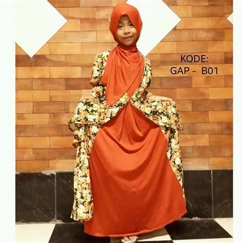 Baju Anak Perempuan Cantik baju muslim anak perempuan cantik modern fashion trendy modis chic syar i fashion trendy