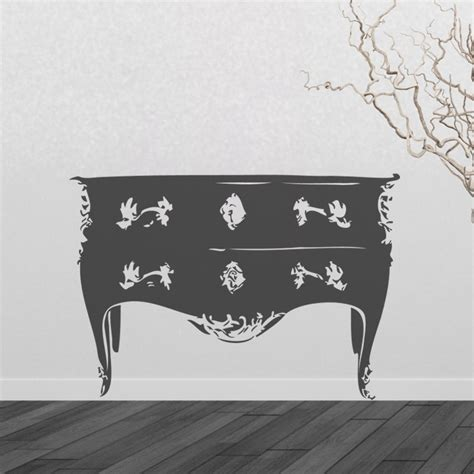 Stickers Pour Commode by Sticker Commode Style Baroque D 233 Coration Chambre Baroque