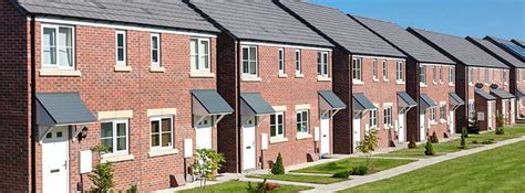 uk housing government funded affordable housing down by 50 the planner
