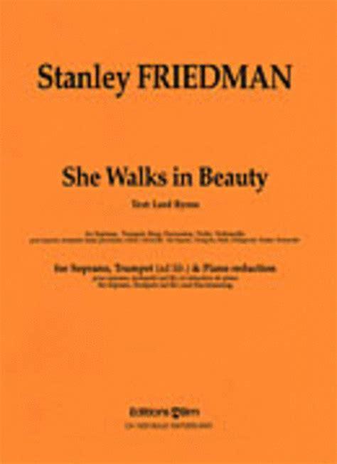 She Walks In Essay by She Walks In Essay