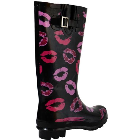 mens funky wellington boots pink funky festival wellies wellington boots