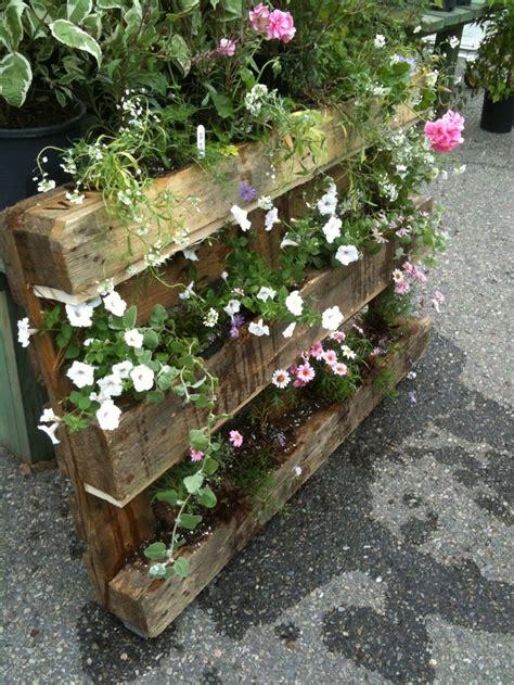 palette planter by me garden deck