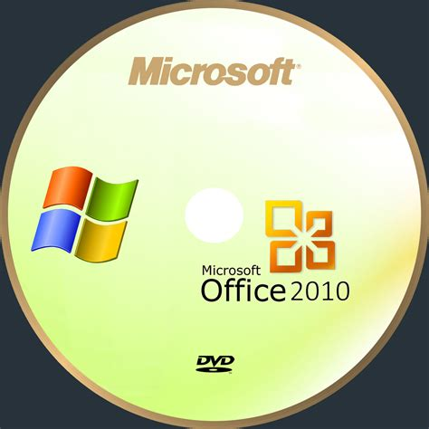 Dvd Microsoft Office microsoft office 2010 custom pc software cd cover dvd cover front cover