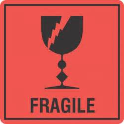 fragile x500 labels fragile don t crush keep dry