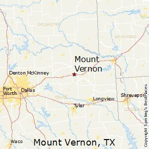 map of vernon texas best places to live in mount vernon texas
