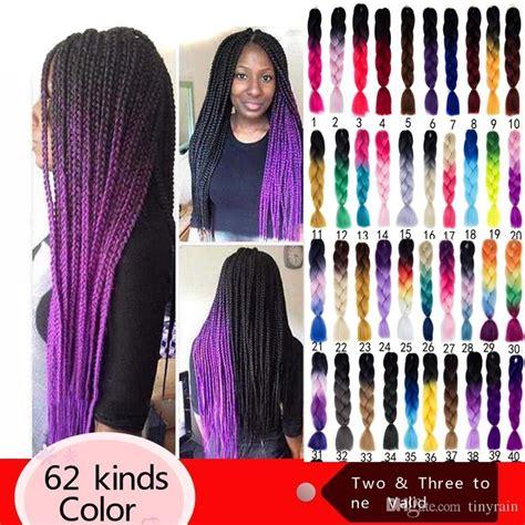 voliet xpression hair ombre braid jumbo braiding for twist kanekalon hair ultra
