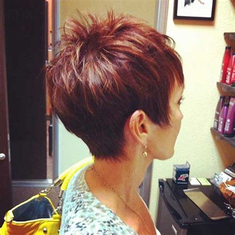 back view of short spikey hair cuts for women back view images of short spiky hair cuts