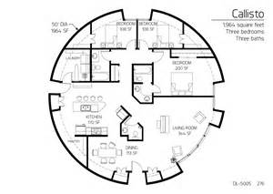 Monolithic Dome Home Floor Plans Floor Plan Dl 5005 Monolithic Dome Institute