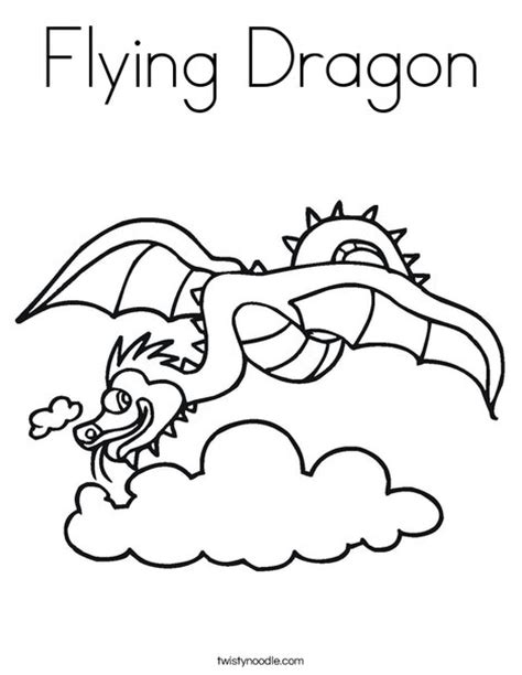 coloring pictures of flying dragons flying dragon coloring page twisty noodle
