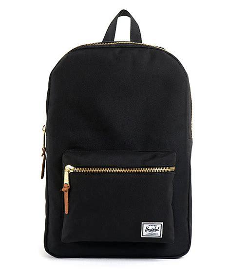 black packs herschel supply black settlement 20l backpack at zumiez pdp